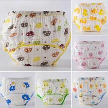 Breathable baby panties Soft cotton boys girls diaper cover Toddler newborn clothes diapers reusable Nappies R2-16H