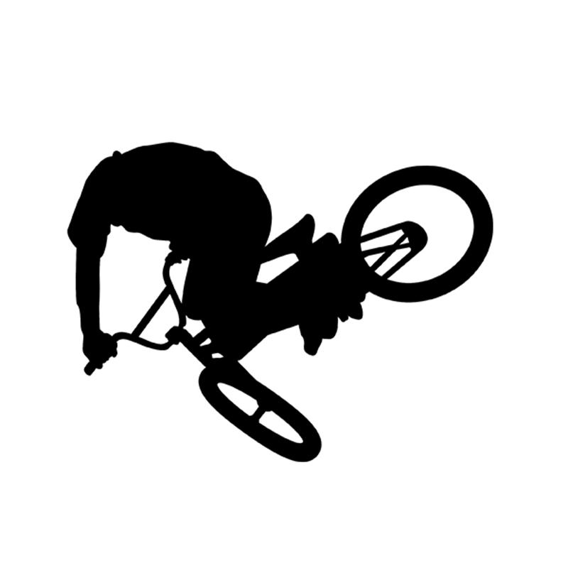 Powerlite Vinyl Decals Bmx Bicycle Racing Freestyle Freestyler Park Street Racing Bikes Stickers For Car Window SUV Truck Bumper(China)