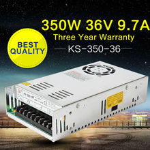 AC-DC 36V UPS Power Supply 36V 350W Switch Power Supply Transformer LED Driver for LED Strip Light CCTV Camera Webcam