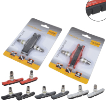1 Pair Cycling Folding Bike MTB Road Bicycle V Brake Pads Holder Rubber Blocks Durable Parts 73mm