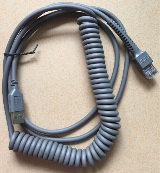 Symbol// Motorola// Zebra CBA-U09-C15ZAR Scanner Cable