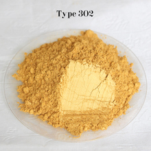 Type 302 Gold  Pigment Pearl powder dye ceramic powder paint coating Automotive Coatings art crafts coloring for leather
