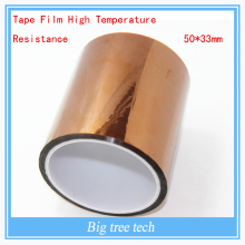 3D Printer Bed parts /Accessories Tape Film High Temperature Resistance  50*33mm