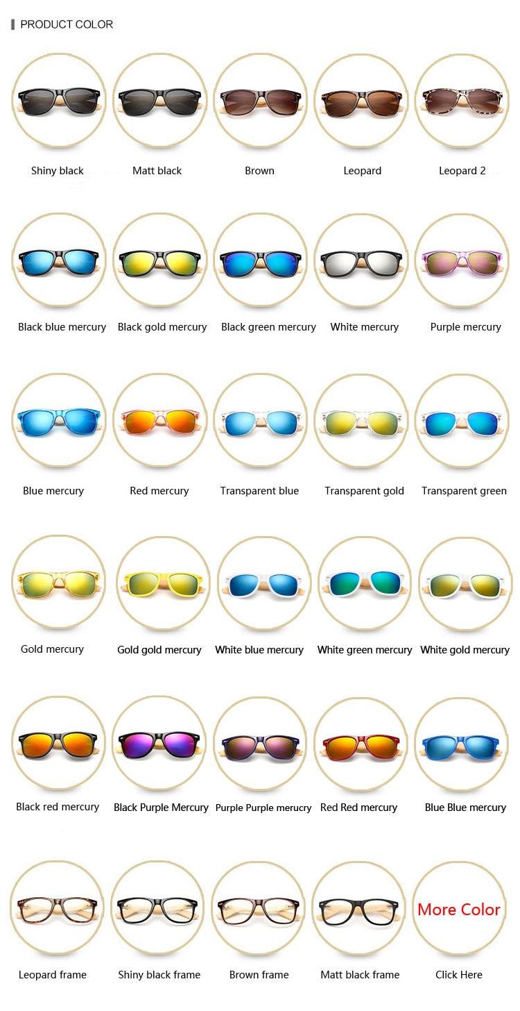 Ralferty Retro Wood Sunglasses Men Bamboo Sunglass Women Brand Design Sport Goggles Gold Mirror Sun Glasses Shades lunette oculo 6
