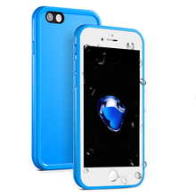 New Waterproof Case For iphone 6 6s 6 plus 7 7 plus Luxury Slim Shockproof Soft Silicone Touch Cover Phone Cases For iphone 7
