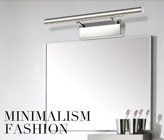 Length 70cm 9W mirror lamp European-style Simple modern LED wall lamp bathroom AC90-260V SMD5050 Pathway Sconce Lighting<br><br>Aliexpress