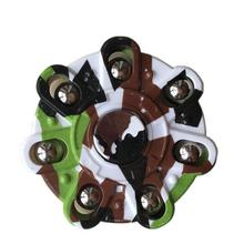 Buy New Fashion Colorful Fidget Spinner Rotation Time Long EDC Metal hand spinner Autism ADHD Kids Adult Funny Fidget toy for $4.24 in AliExpress store