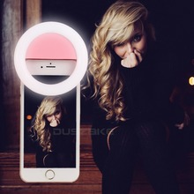 Led Selfie Lamp Ring Light for Phone Portable USB Charge Photography Enhancing Flash Photography for iPhone 6S 7 Samsung Huawei