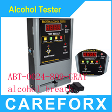 2015 New professional coin operated alcohol tester/breathalyzer machine for bar /restaurant /hotel AT-888