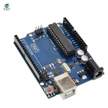 Smart Electronics UNO R3 MEGA328P ATMEGA16U2 Development Board Without USB Cable for arduino Diy Starter Kit(China)