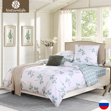 100% Cotton Bedding Set 4pcs Duvet Cover Sets Soft  Bed Linen Flat Bed Sheet Set Pillowcase bed cover housse de couette