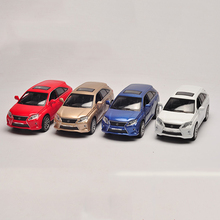 Four Colors 1/32 Lexus RX450h Car Models With Sound Light Pull Back Boys Children Toys brinquedos Gifts