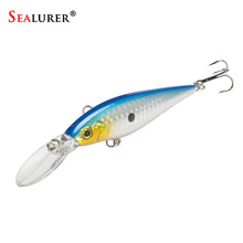 Brand Quality Floating Fishing Minnow Lures 10 Colors 11cm/10g Plastic Fly Pesca Wobbler Hard Bait Crankbait 1pcs/lot
