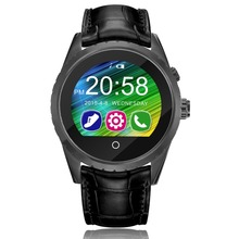 C5 Sapphire Glass Mirror Bluetooth 3.0 / 4.0 SmartWatch IPS Display Screen Heart Rate Sleep Monitor Pedometer Sedentary Reminder