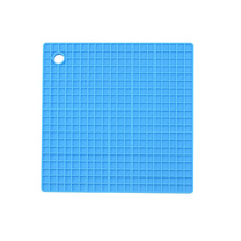 Multi-functional Silicone Heat Resistant Pad Non-slip Kitchen Use Square Insulation Cushion Anti Ironing Casserole Mat Tray Home