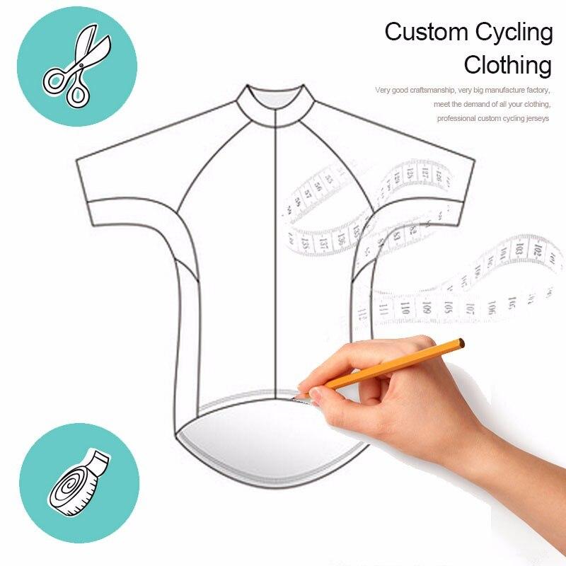 Por Custom Cycling Jersey Sets Maillot Cycling Clothing Bike Jersey+Bib Shorts(DIY MTB Shirt,Contact us immediately)