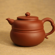 Collection Limited Edition Hand Made Cucurbit Teapot Yixing Tieguanyin Tea Set Chinese Great Master Works Purple Clay Tea Maker