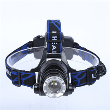 5000 Lumens LED Powerful Cree T6 Headlamp Rechargeable Head Lamp For Hunting Long Time Lasting Headlight With 18650 Battery