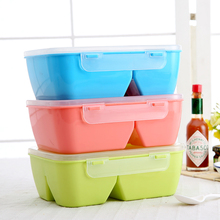 New Portable Mess Tin Microwave Bento Box PP Outdoor Picnic Food Storage Container Lunchbox Dinnerware Set Tableware