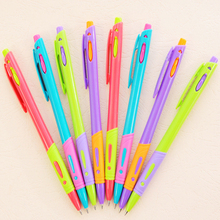 1pcs Cute Candy Color Mon Blanc Ballpoint Pens For Writing Funny School Stationery Ball Pen Gift(China)