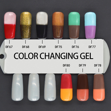 MICHEY China Manufacture Professional UV Gel Color Changing Nail Polish Thermo Gel Lacquer LED Polish Gel 1pcs Free Shipping(China)