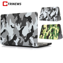 PC Case Cover For Apple Macbook Air 13 Case Air 11 Pro 13 Retina 12 13 15 Laptop Bag For Mac Book Pro 13 Protective Cases(China)