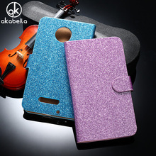 AKABEILA Women Phone Bag Bling Diamond Glitter Phone Case For Motorola Moto Z Force Z Play Droid Edition Verizon Vector Covers(China)