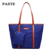PASTE Women Handbag Wear-resistant Nylon Women Messenger Bag Western Style Daily Shopping Bag Leisure Trendy Shoulder Bag