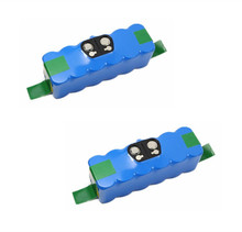 2PCS 14.4V 6800mAh Li-ion Battery for iRobot Room 500 510 540 550 560 564 570 580 600 610 625 700 760 770 Vacuum Cleaner battery(China)
