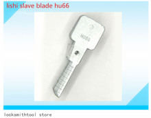 car accessories genuine Lishi slave key blade Hu66 for making hu66 key outdoor free shipping
