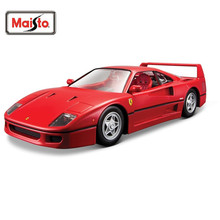 Maisto Bburago 1:24 F40 Diecast Model Car Toy New In Box Free Shipping