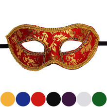 Hot Selling Mask Top Quality Venetian Masquerade Halloween Mask Free Shipping Drop Shipping Home Wider