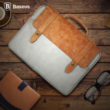 "Baseus Universal Portable Laptop Bag For Tablet Computer iPad Pro iPod Soft Protective Bag Suitable For Under 14"" inch Devices"