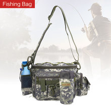 Multifunctional Fishing Bag Waist Lure Pack Fishing Bag Lures Pouch Pole Package Outdoor Fish Tackle Bag Utility Convenient Tool