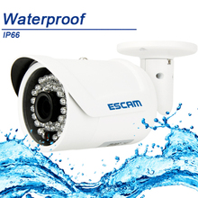 ESCAM Fighter QD320 H.264 Dual-stream Encoding IR Bullet HD 720P CMOS Sensor Adjustable IP66 Waterproof IP Network Camera