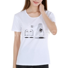 Michael Jackson Ghosts T Shirt Women New Style Simple Style Tee Great T Shirt Women Short Sleeve Round Neck Club Tee K4-17#