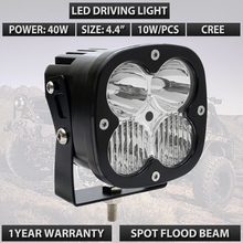 40w LED WORK LIGHT 4.4INCH LED TRUCK DRIVING OFFROAD LIGHT USED FOR CAR TRUCK SUV ATV UTV UTE 12V 24V LED DRIVING LIGHTS X1PC(China)