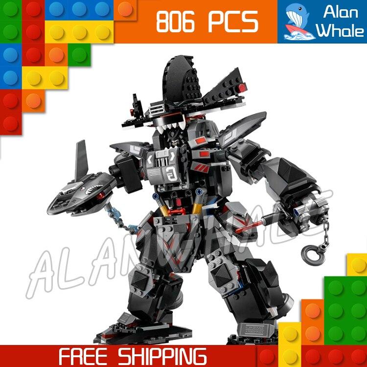 806pcs Ninja Garma Mecha Man Samurai Mech Robots 06060 Model Building Blocks Children Assemble Toys Bricks Compatible With lego<br>