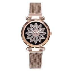 Женские часы из розового золота