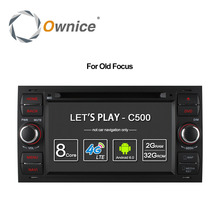 Ownice C500 Android 6.0 Octa 8 Core In Dash Car DVD Player For Ford Mondeo Focus Transit C-MAX GPS Navi Radio Support 4G LTE(China)
