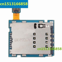 10 pcs/lot HK     new For Samsung Galaxy Tab 10.1 3G P7500 SIM card reader holder tray slot Flex Cable