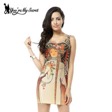 [You're My Secret] HOT Sundress Fashion Women Egyptian Queen Print Galaxy Dress NEW MADE TO ORDER Sleeveless Wholesale Dresses
