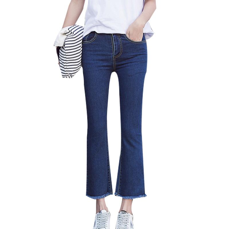 Mid Waist Women jeans 2017 New Spring Winter plus Size Female Vintage Trousers Blue Pantalon femme Casual skinny Denim pantsОдежда и ак�е��уары<br><br><br>Aliexpress