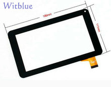 "New Touch screen For 7"" Tesla Atom 7.0 IPS Tablet touch panel Digitizer Glass Sensor replacement Free Shipping"