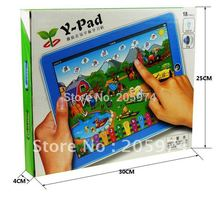 Farm in Tablet Toy Ypad Y-pad Table computer handle farm kids learning reading machine educational child toys 2b(China)