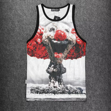 Meme Design 3 D Skull Printed Basketball Outdoor Jerseys,Cartoon Funny Sleeveless Sport T Shirt,Men College Throwback New Jersey