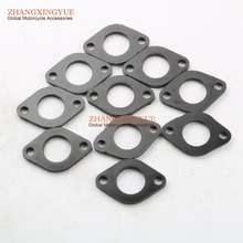Buy 10PC Intake Manifold Spacer Gasket 152QMI 157QMJ GY6 125cc 150cc Scooter ATV for $6.99 in AliExpress store