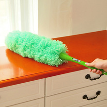 New Superfine fiber dust shan household removable dropping duster Pink Feather Duster New Car Dust Cleaning 62*34.5*38cm(China)