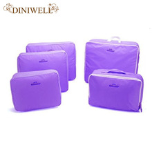 DINIWELL Multi-Functional Portable Travel Luggage Suitcase Clothes Underwear Packing Cubes Organizer Container Storage Bag Pouch