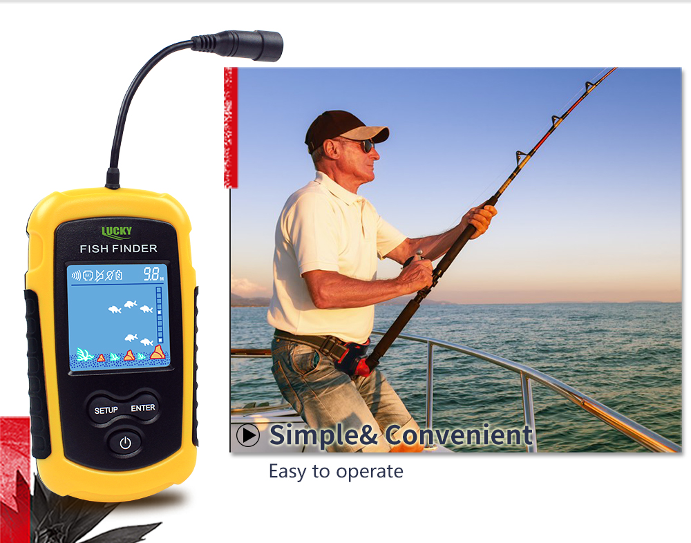 Findfish Wireless Portable Sonar Fish finder (5)